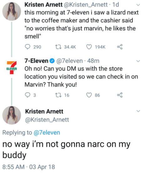 We need more people like Kristen.