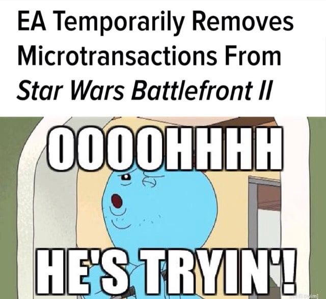 EA being EA