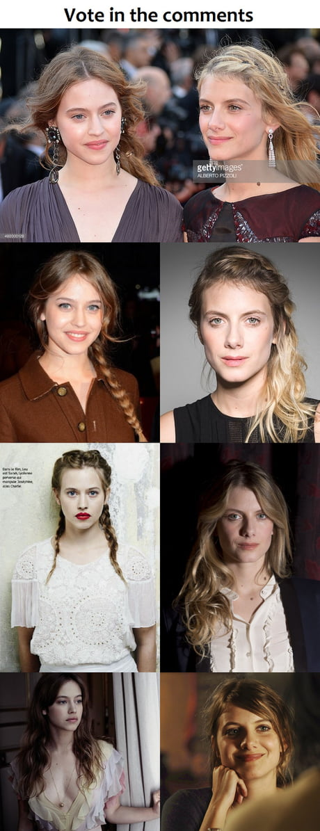 Left or Right ? Battle of the two most beautiful French women!