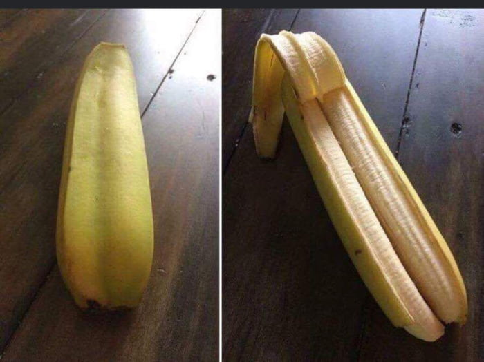 This is a double banana. Upvote for 5 years of good luck. Ignore for 10 years of bad luck. Wouldn't risk it