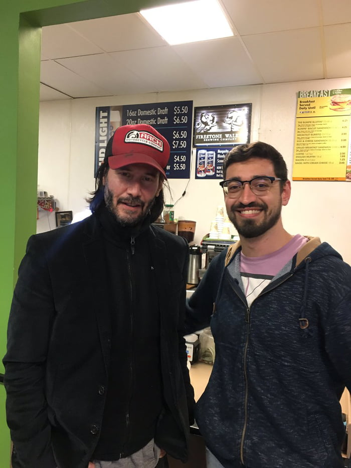Keanu Reeves Went On A Pleasant Bus Trip With Strangers After Getting Stranded 1