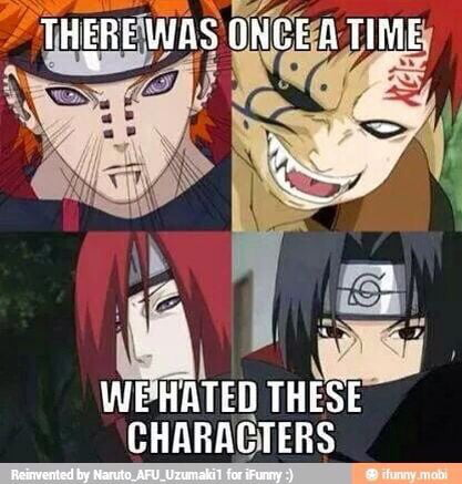 I really hated itachi in the first part