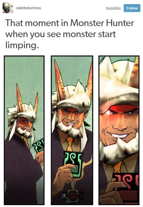monster hunter movie meme
