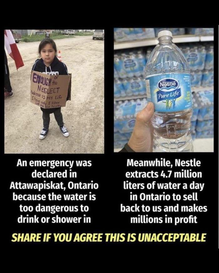 Nestle stealing water