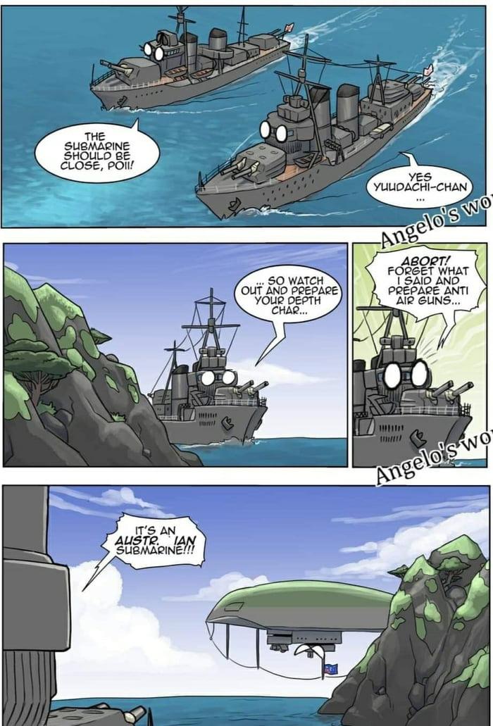 The Austrian Submarine is something