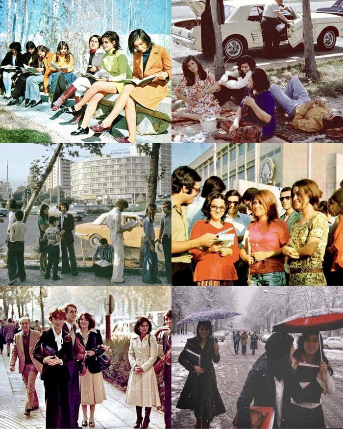 Iran, before the 1979 Islamic Revolution