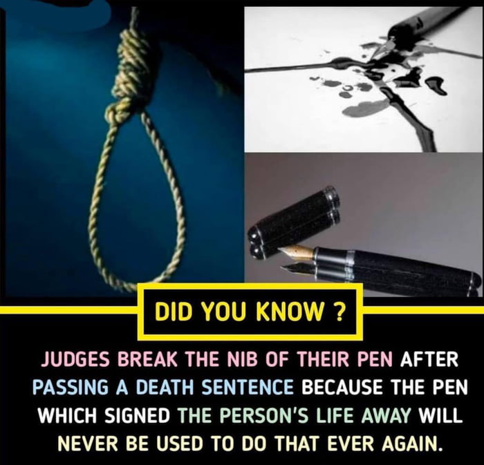 Just a very interesting fact to know