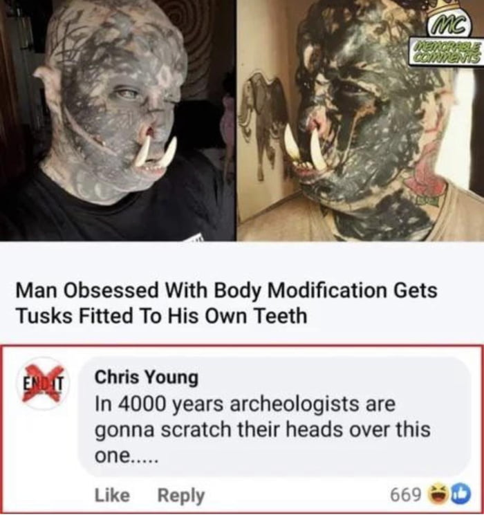 What are your views on body modifications?