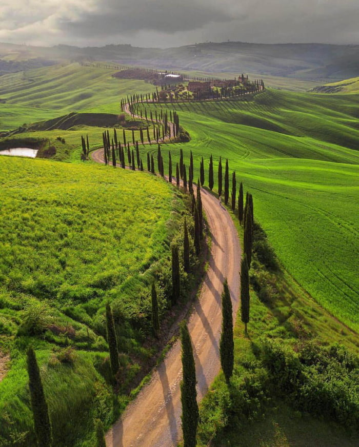 Peaceful morning, Tuscany, Italy
