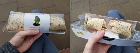 This damn wrap cost £3.50