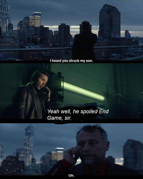 John Wick Kills Thanos With A Pencil 9gag