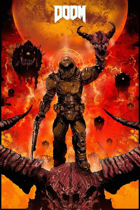 The Doom Slayer Hell Walker 9gag