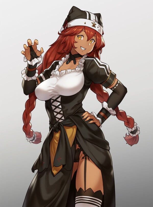 The thicc maid