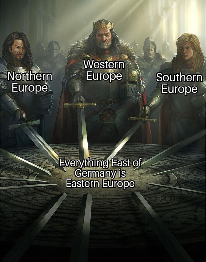 There is no such thing as Central Europe. Only Eastern Europeans that don't want to be called Eastern Europeans.