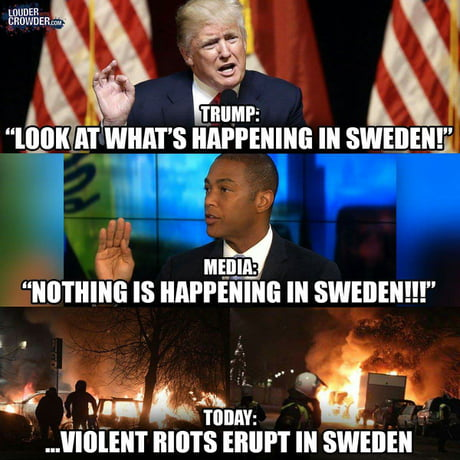 Remember: nothing is happening in Sweden