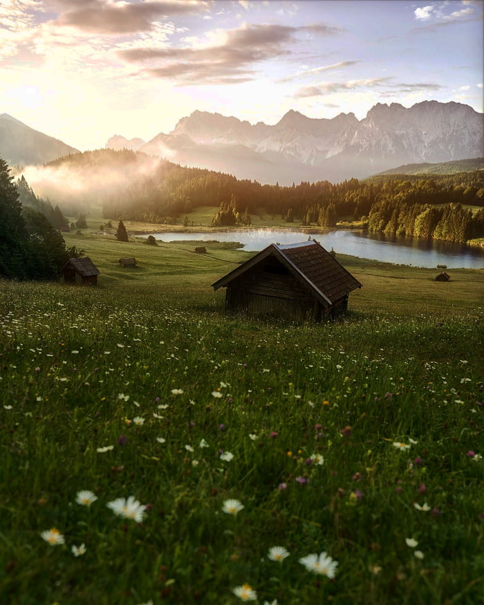 Just a peaceful place in Bavaria Germany