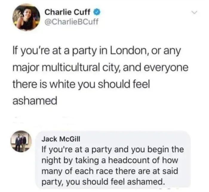 Wait, you guys get invited to parties?