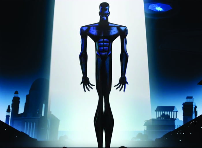 I don't exactly know what i felt here, but it was damn powerful - Zima Blue (Love Death And Robots)