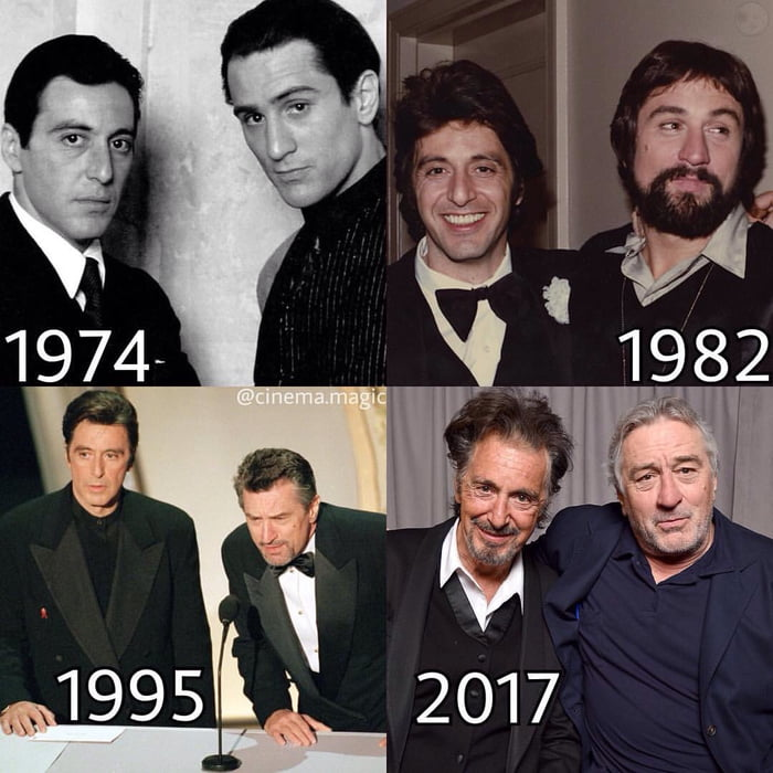 Al Pacino & Robert De Niro