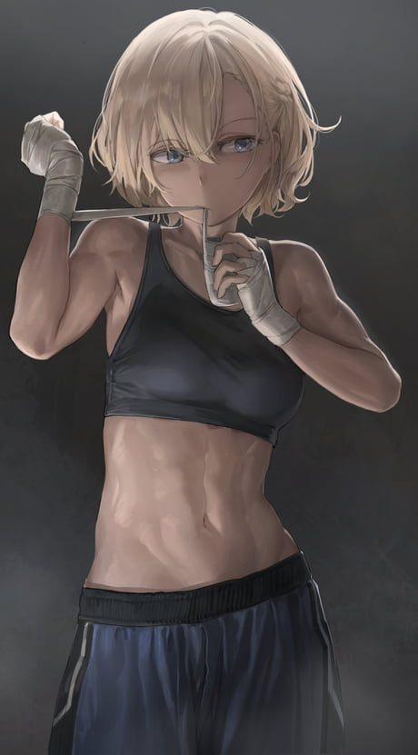 Anime Girl Abs