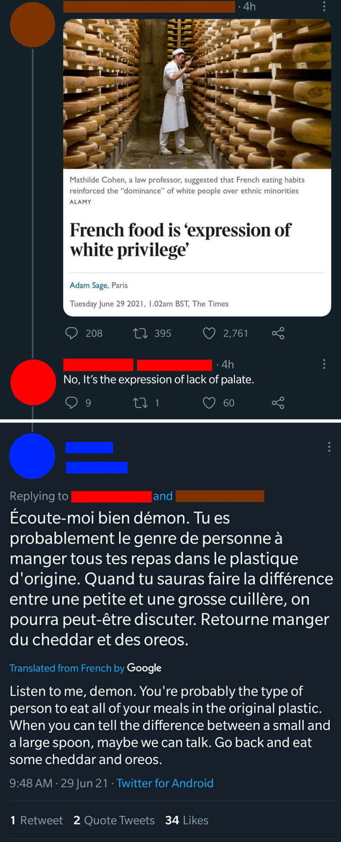 A French Smackdown