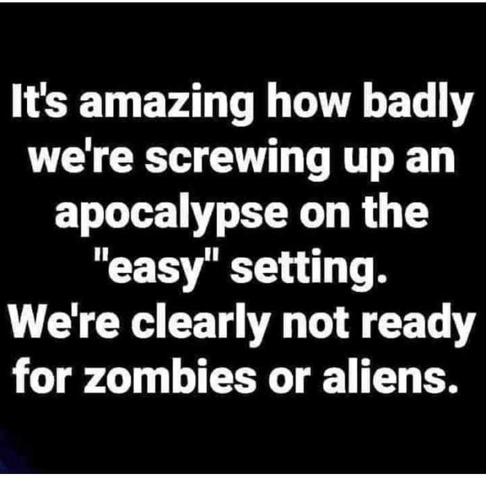 Bring on the zombies