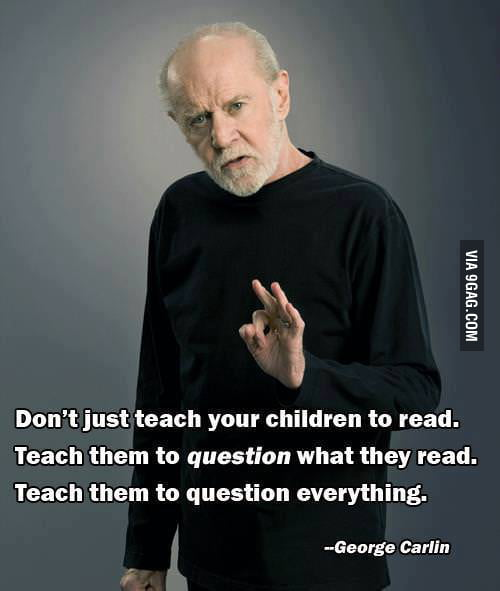 George Carlin on parenting
