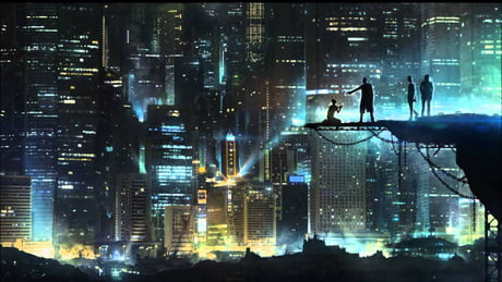 For Those Looking For This Wallpaper Cyberpunk Cityscape 9gag