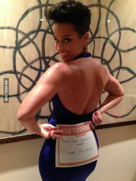 Alicia Keys Booty