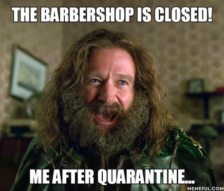 The Barbershop Is Closed Me After Quarantine 9gag