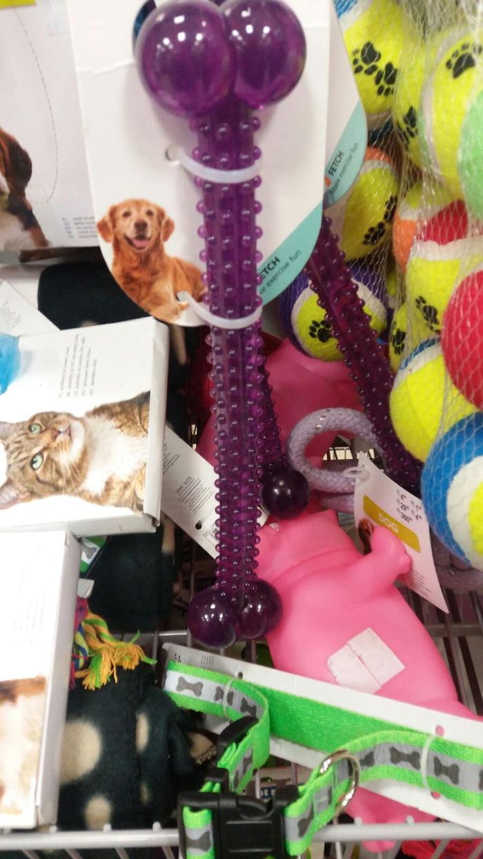 Dog toy... suuuuure...