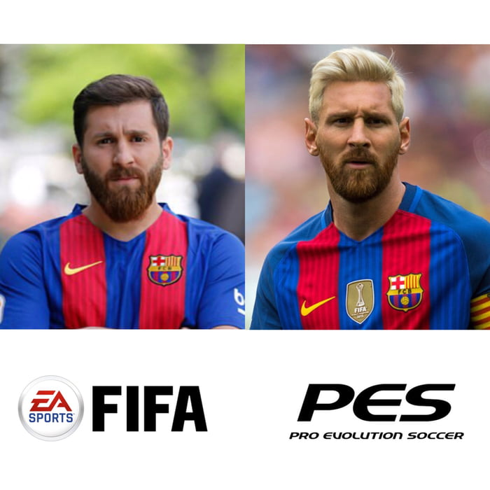 So there's a guy that looks like Messi...