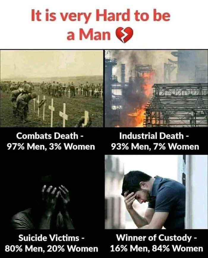 But this equality, no feminist is interested in..