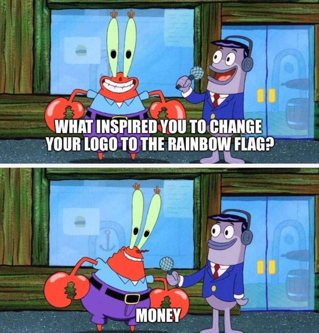 Corporations during Pride