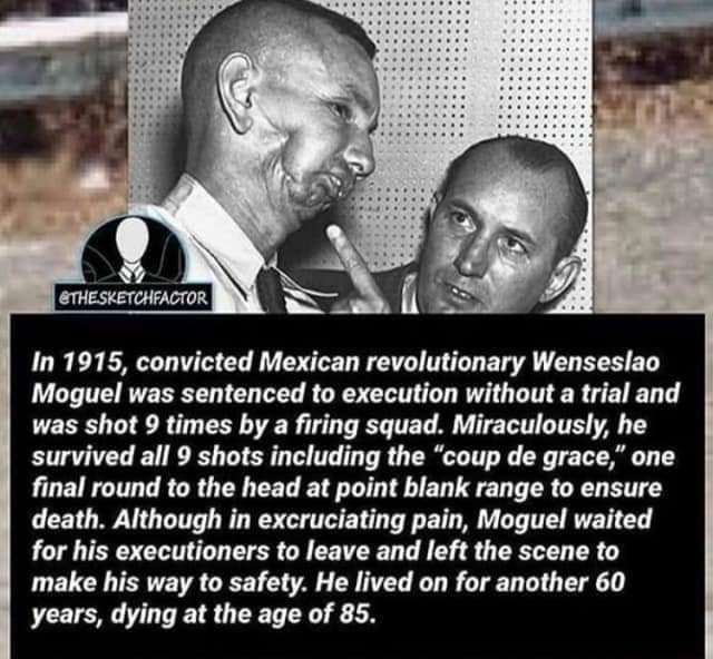 THE MAN WHO SURVIVED EXECUTION