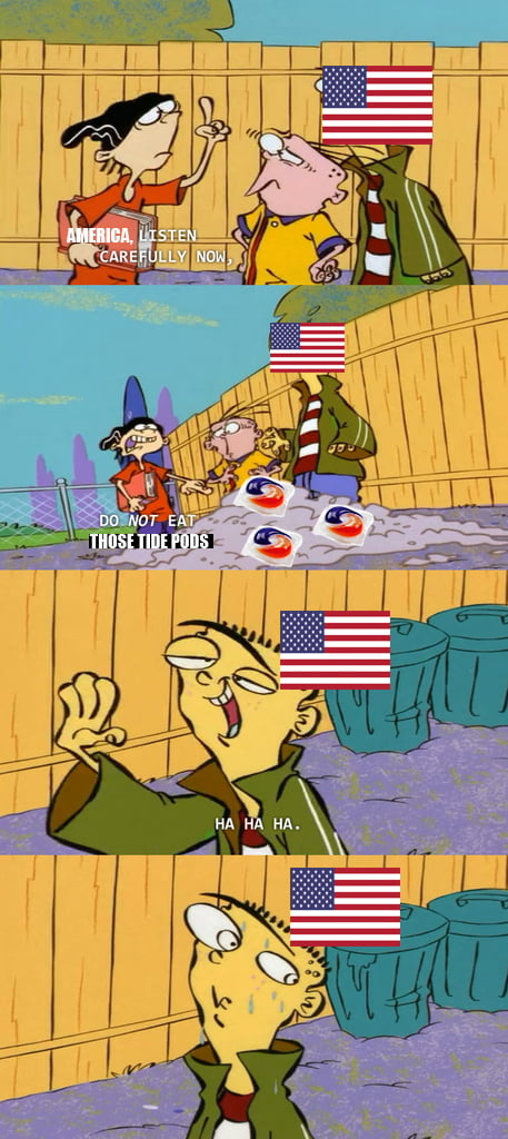 Literally America right now...