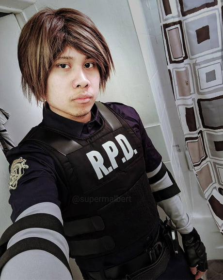 Resident Evil 2 Remake Leon Kennedy Cosplay By Supermalbert 9gag