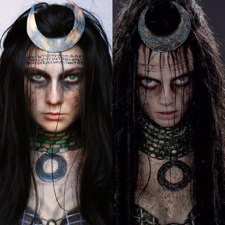 Enchantress From Suicide Squad Body Art 9gag