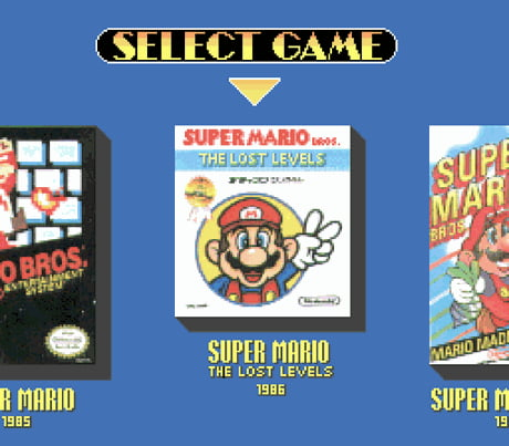 super mario bros the lost levels 1986