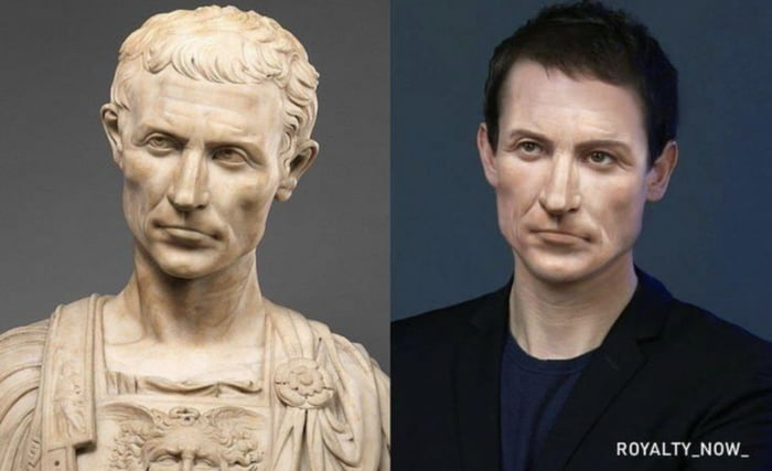 CG Image of Julius Caesar in modern times as a 45-year-old, thought it was interesting.