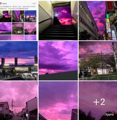 This is how yesterday's Japan looked like when the super typhoon came 1