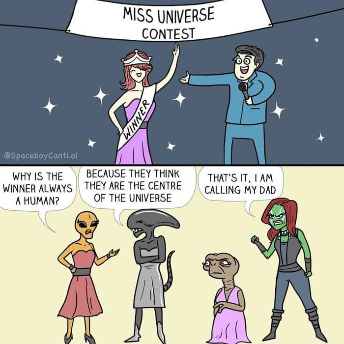 Miss Universe!