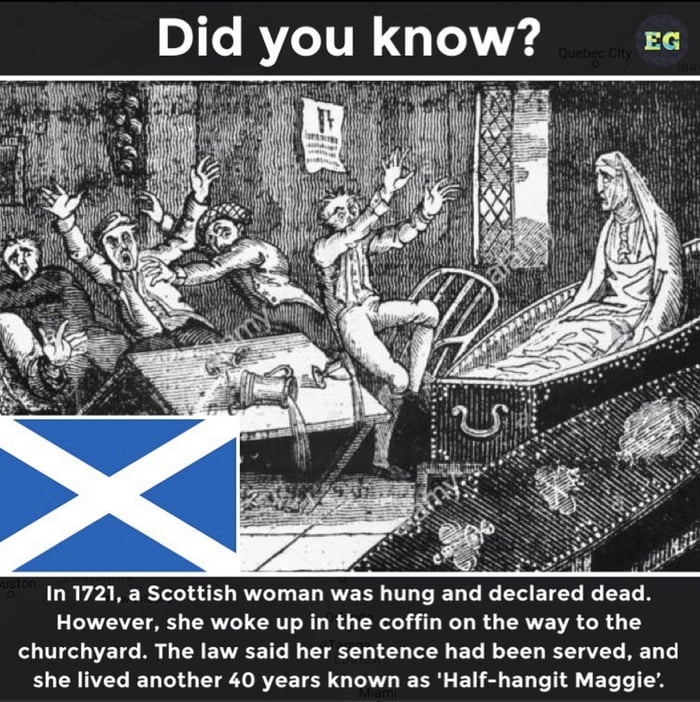 Fun fact: because she was declared dead, she didn't exist in the eyes of law so she didn't had to pay taxes