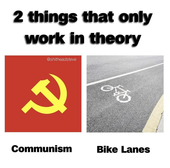 Fun fact: Karl Marx was a cyclist