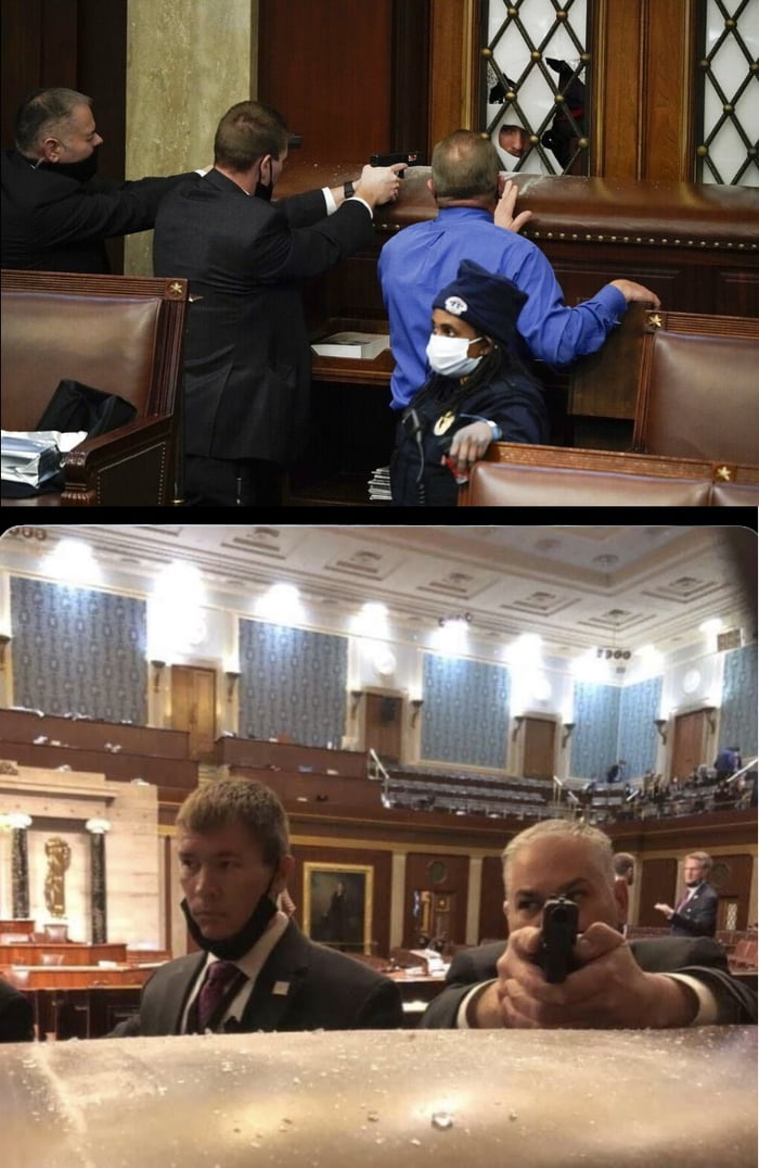 Inside of US Congress, two perspectives