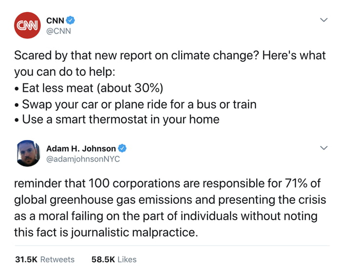 Climate change shouldn't be a political issue