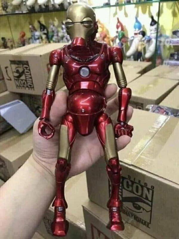Iron Deficiency Man