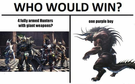 Monster Hunters Will Know 9gag