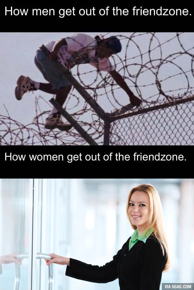 How men & women get out of the friendzone
