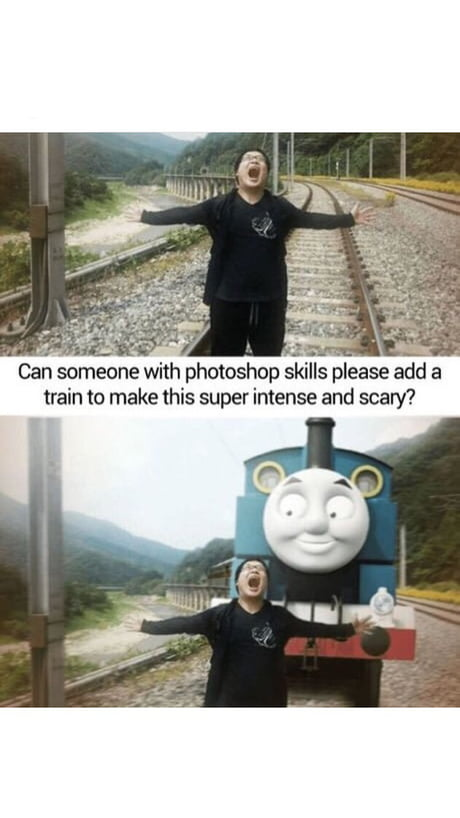 Scary TrainHavibabymum